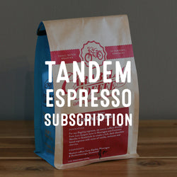 Tandem Espresso Subscription
