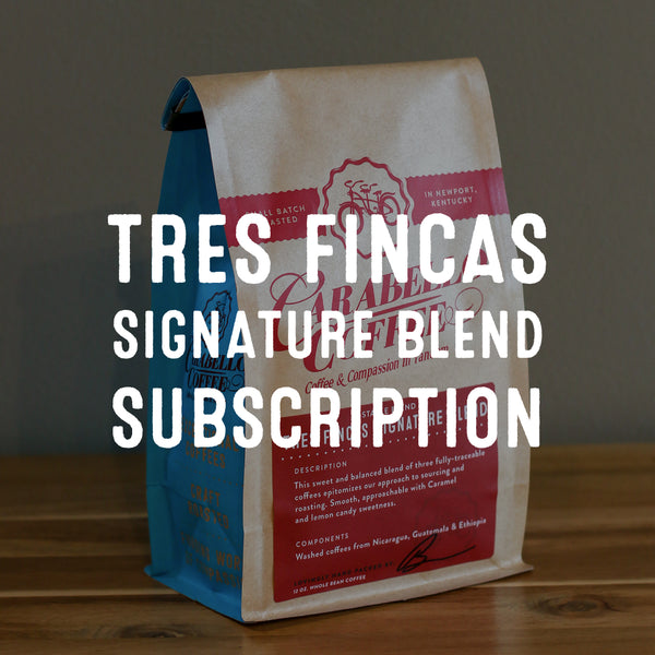 Tres Fincas Signature Blend Subscription