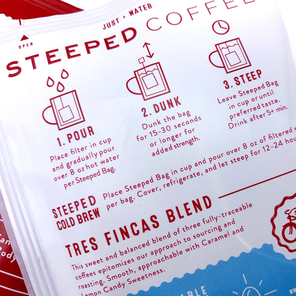 Steeped Tres Fincas Pack