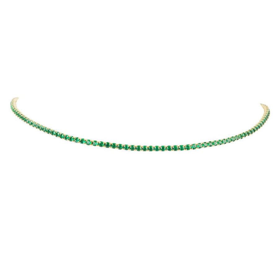 Tennis Choker Green