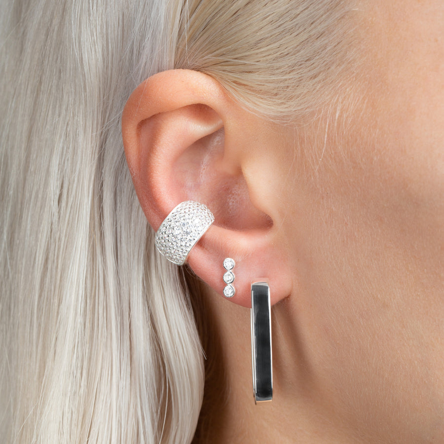 Carrie Earrings Silver