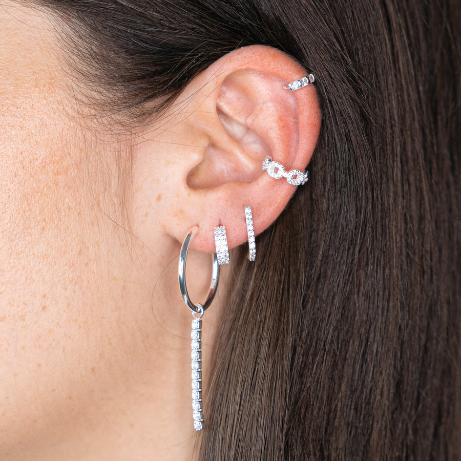 Coco Earring Silver
