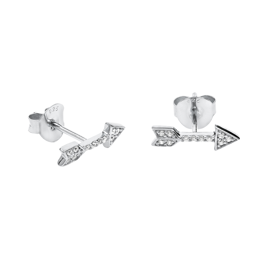 Amor Earrings Silver