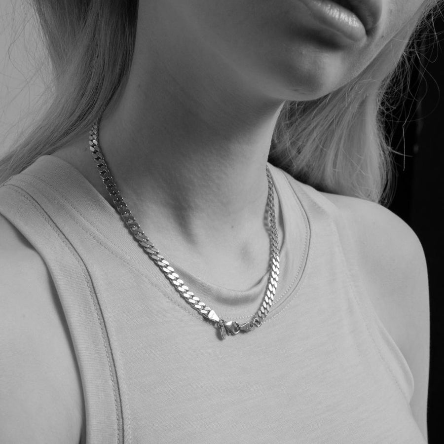 Panzer Choker Silver | Premium Collection
