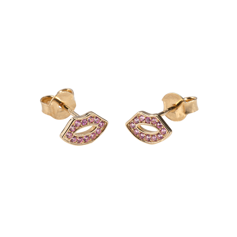 Kiss Me Earrings Zirconia