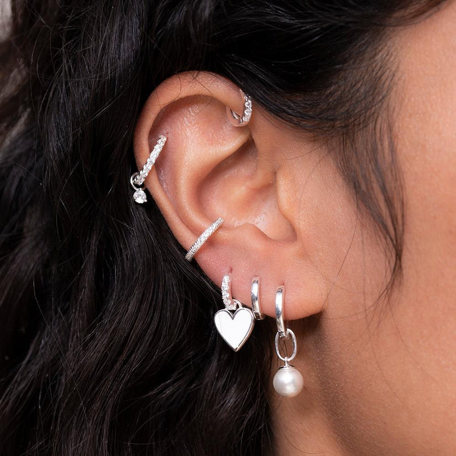 Kylee Earrings Silver