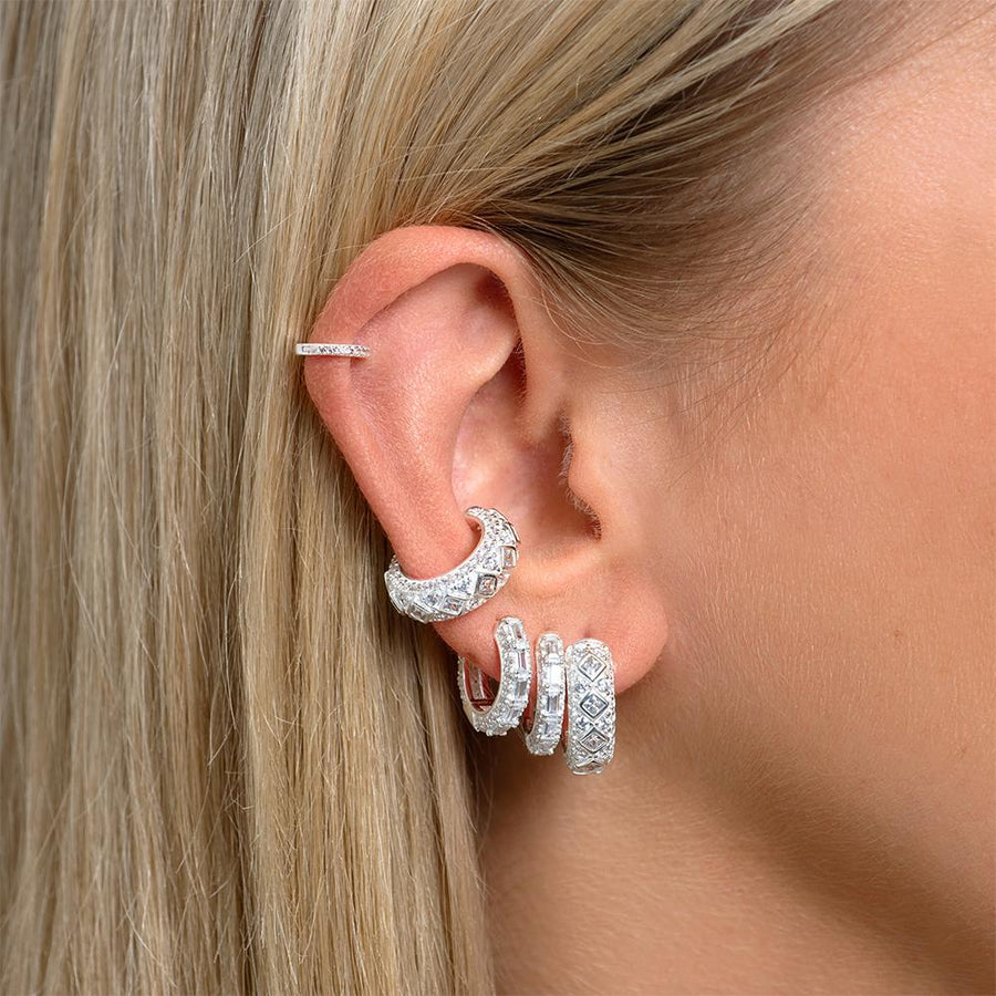 Malu Earrings Silver