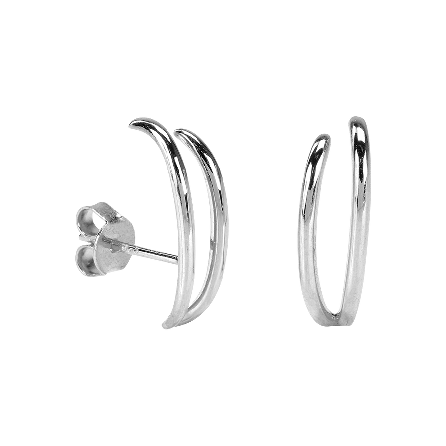Amalia Earrings Silver