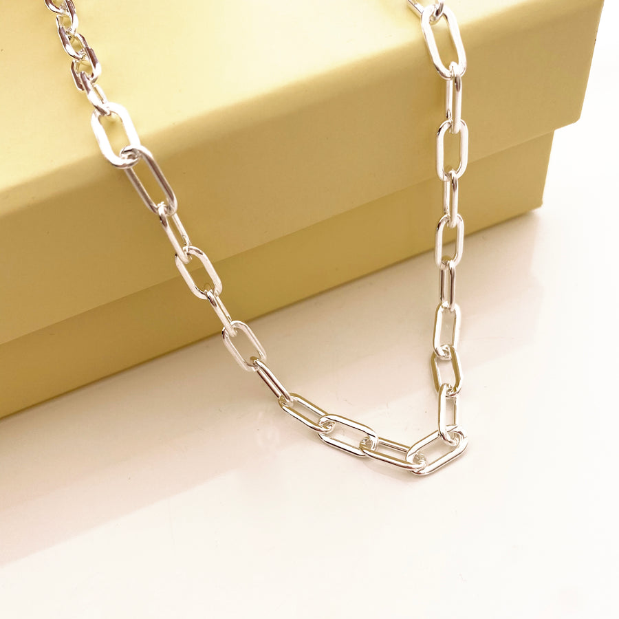 Cleo Chain Silver | Premium Collection