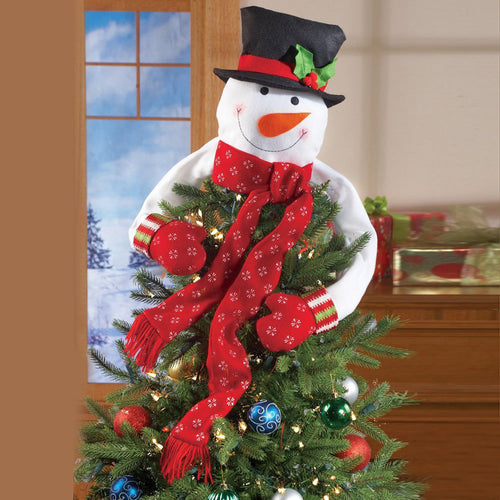 Christmas Snowman Xmas Tree Decoration Festival Party Home Decor Great Gift Idea
