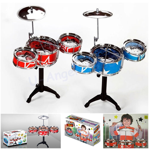 Christmas Gift Idea Children Toy Drum Set Boys/Girls Play Music Develop Intelligence