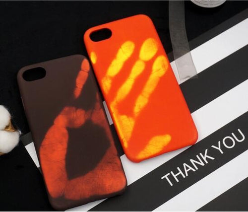 Thermochromic Hand cases for Iphones