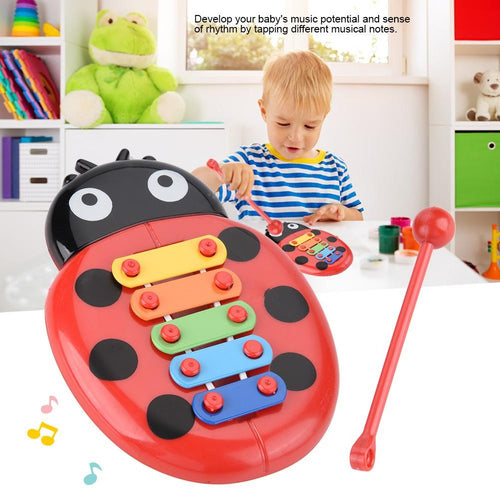 Musical Baby Beetle Xylophone - Educational Kids Music Instrument