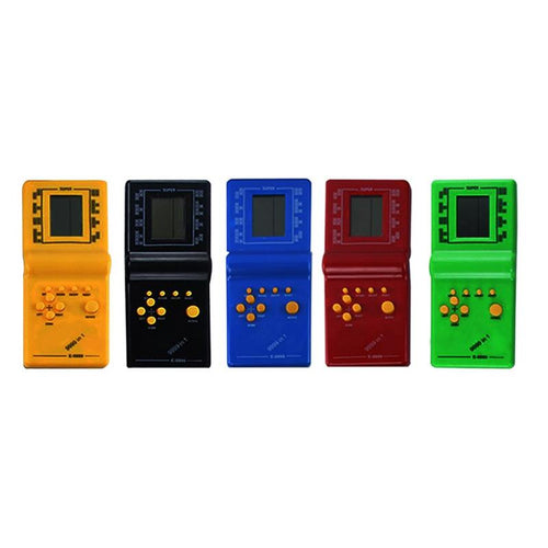 Classic Retro Handheld Video Game Player - 5 Hot New Colors to Choose From