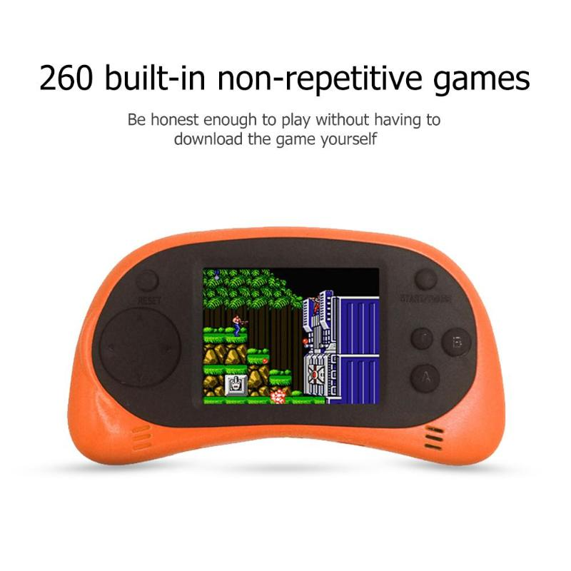 Classic Retro Mini Video Game Console -Portable Handheld Game Player  Built-in 260 Different Classic Games