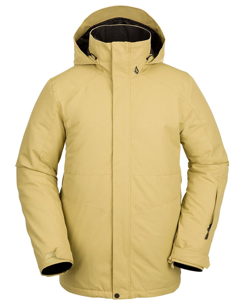 Snow coat VOLCOM Mens Scortch Insulated Jacket Gold 2022