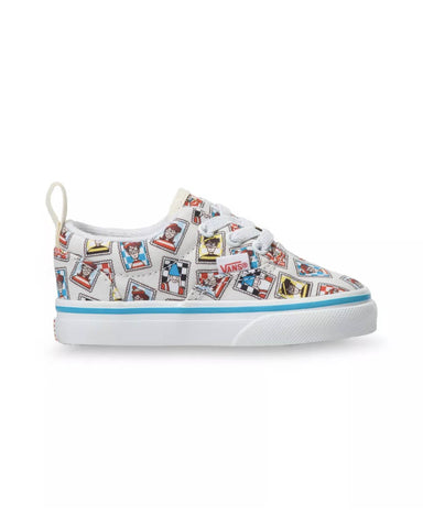 VANS X WHERE'S WALDO? TODDLER ERA ELASTIC LACE