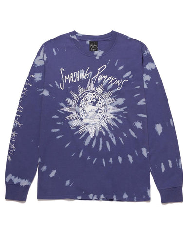 SIVE LONG SLEEVE PURPLE T-SHIRT