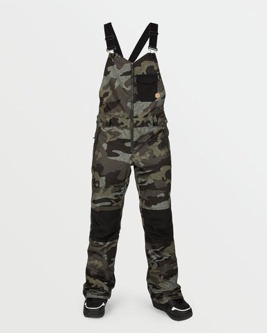 WOMENS SWIFT BIB OVERALL - SERVICE GREEN