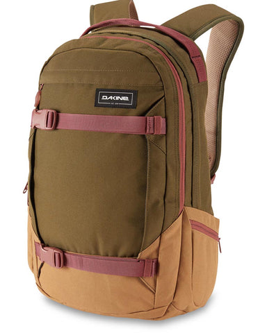 WOMEN'S MISSION 25L DARK OLIVE CARAMEL