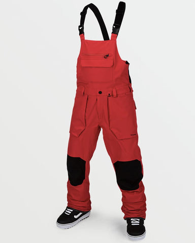 ROAN BIB OVERALL RED