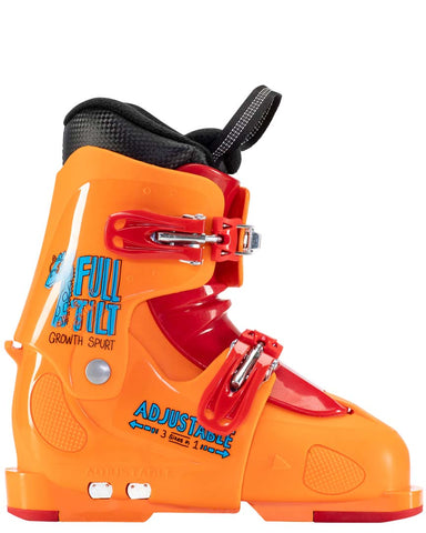 Full Tilt Growth Spurt 2021 kids youth ski boots