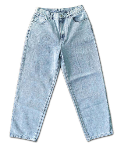 Frosted Baggy Skate Pants - Blue