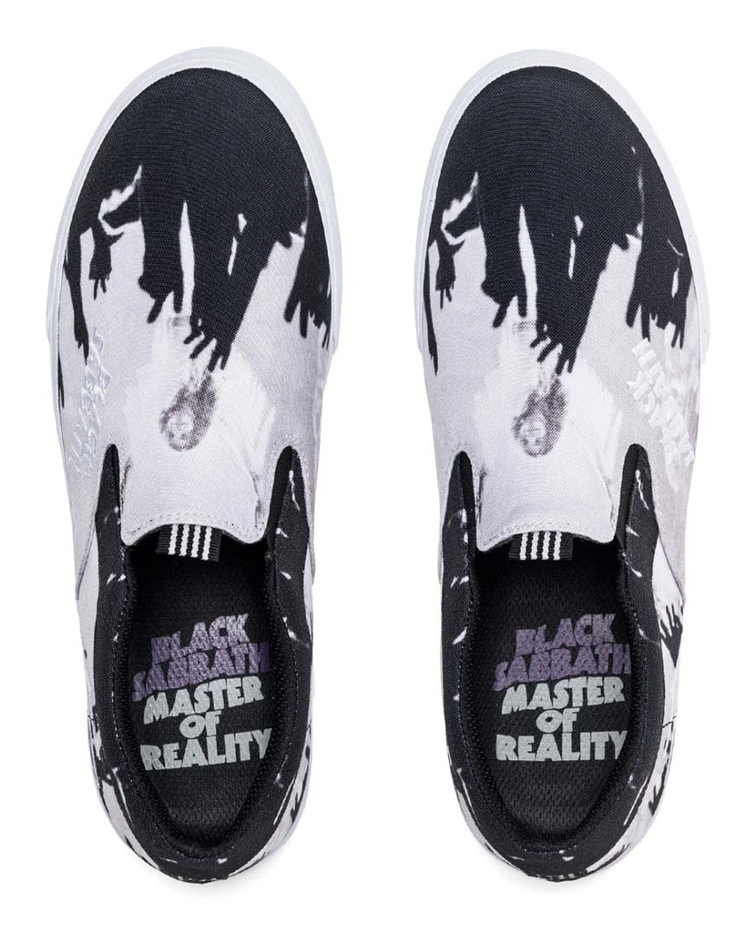 Souliers LAKAI OWEN VLK BLACK SABBATH BLACK/WHITE