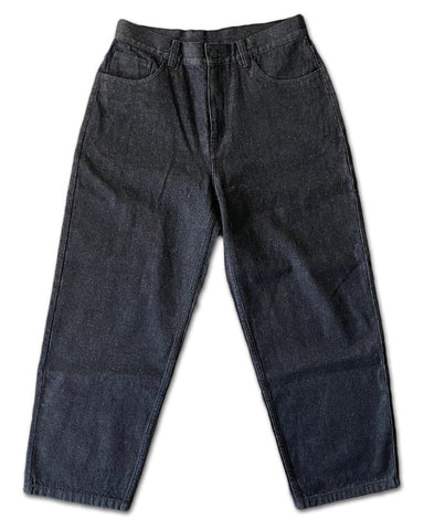 Frosted Baggy Skate Pants - Black