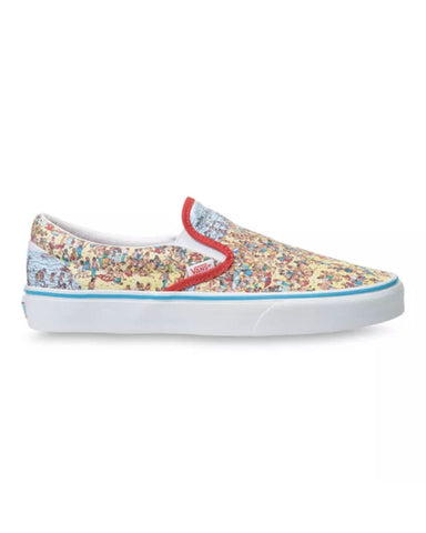 VANS X WHERE'S WALDO? CLASSIC SLIP-ON - FIND STEVE/BEAH
