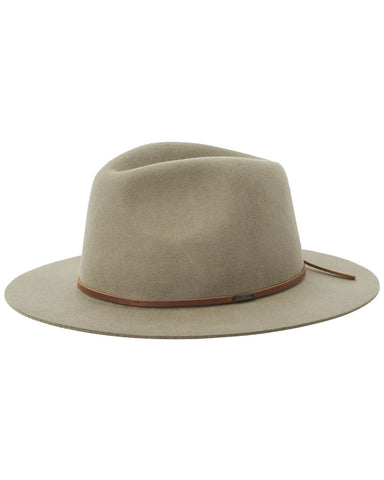 WESLEY PACKABLE FEDORA LIGHT OLIVE