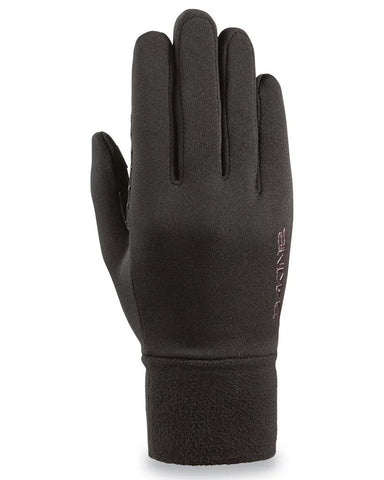 WOMEN'S STORM LINER GLOVES BLACK