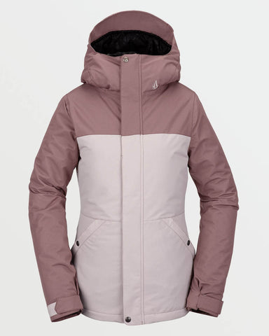 WOMENS BOLT INSULATED JACKET - FADED PINK