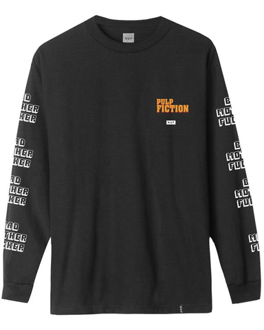 PULP FICTION BAD MF LONG SLEEVE T-SHIRT BLACK
