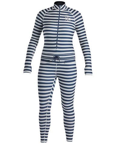 WOMENS HOODLESS NINJA SUIT VINTAGE NAVY STRIPE 2020