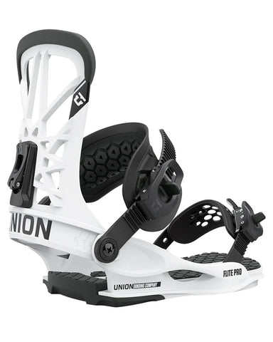 Union FLITE PRO WHITE 2021 snowboard bindings