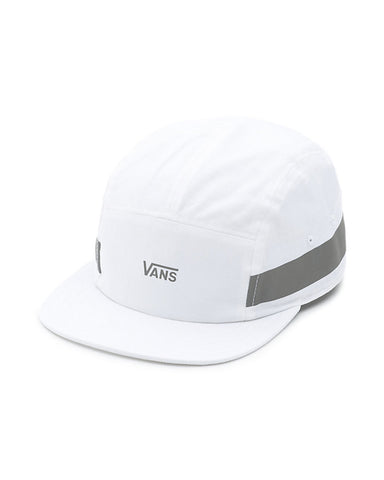 REFLECTIVE OBSTACLE CAMPER HAT WHITE