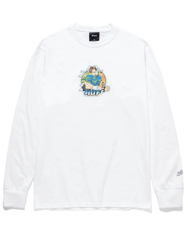 CHUN-LI LONG SLEEVE T-SHIRT WHITE