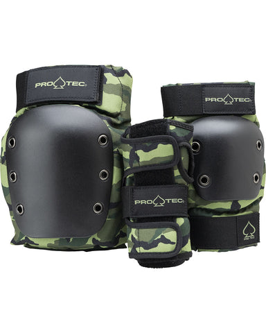 JR. STREET GEAR 3-PACK - OPEN BACK - CAMO