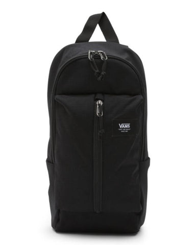 WARP SLING BAG BLACK RIPSTOP