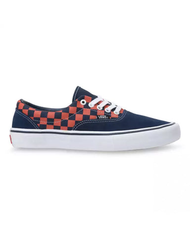 CHECKERBOARD ERA PRO NAVY/ORANGE