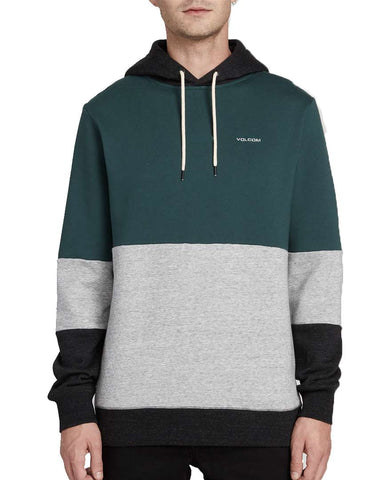 SINGLE STONE DIVISION HOODIE - EVERGREEN