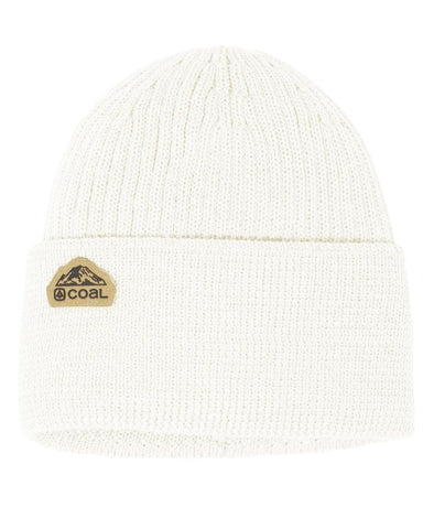 The Coleville Recycled Cuff Beanie - Off White