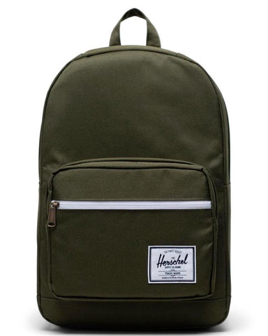 Pop Quiz Backpack Ivy Green / Chicory Coffee