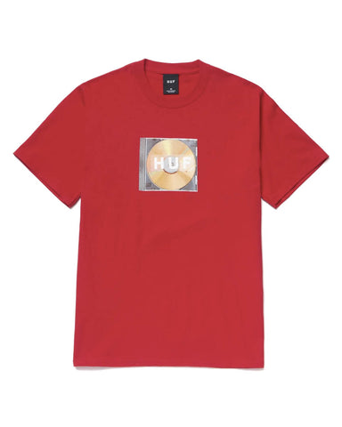 MIX BOX LOGO T-SHIRT RED
