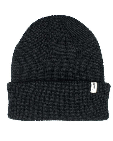 SLASH BEANIE BLACK