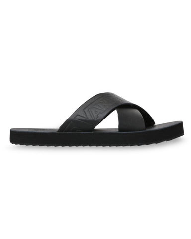 CROSS STRAP BLACK / BLACK