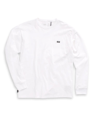 Off The Wall Classic Long Sleeve Tee - White