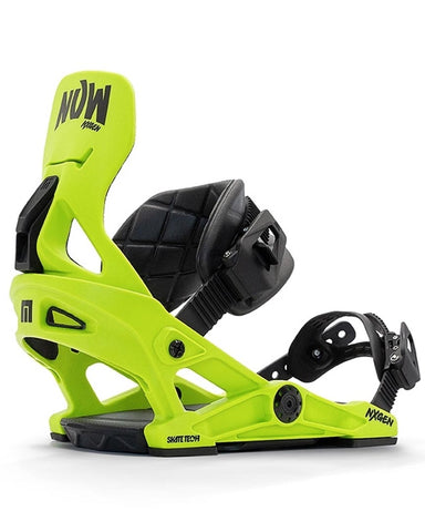now NX-GEN GREEN 2021 youth snowboard bindings