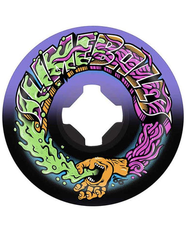 GREETINGS SPEED BALLS PULPLE/BLACK 99A 53MM